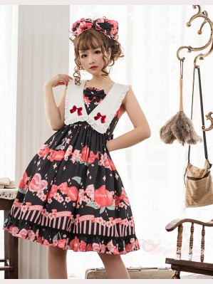Magic Tea Party Peach Sweet Lolita Dress JSK 2 (MP58)
