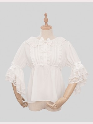 Magic Tea Party Little Devil Lolita Blouse (MP60)