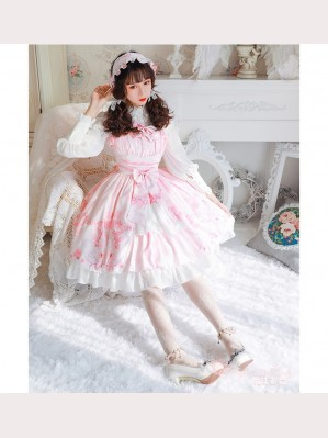 Magic Tea Party Swan Lake Classic Lolita Dress JSK (MP56)