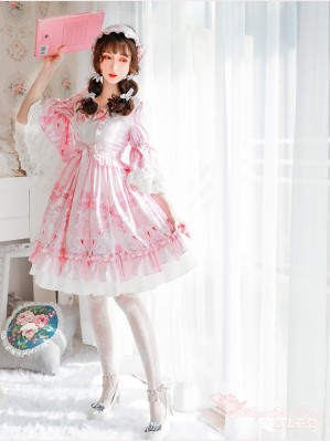 Magic Tea Party Swan Lake Classic Lolita Dress OP (MP55)