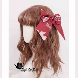 Magic Tea Party Chocolate Rabbit Hair Clip
