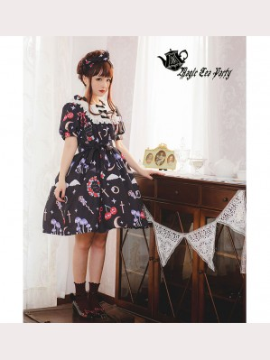 Magic Tea Party Little Devil Lolita Dress OP (MP53)