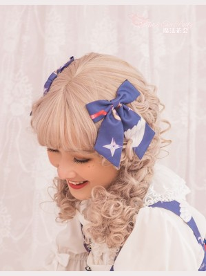 Magic Tea Party Little Devil Lolita Matching Hair Clips (1 Pair)