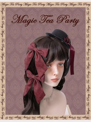 Magic Tea Party Miss Jasmine Classic Lolita Hair Clips (1 Pair)
