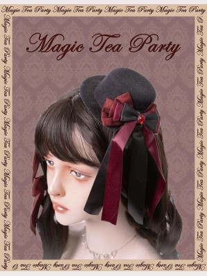 Magic Tea Party Miss Jasmine Classic Lolita Matching Hat (MP69)