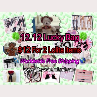 1212 Lolita Lucky Bag $12 for 2 items