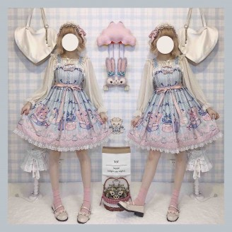 Souffle Song Gift Box Sweet Lolita Dress JSK (ss800)