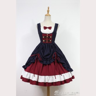 Souffle Song Snow White Classic Lolita Cla Dress JSK