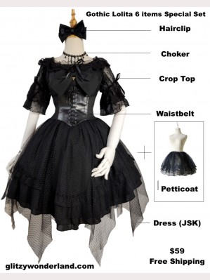 Gothic Lolita Special Set 2019 (6 items) SP01