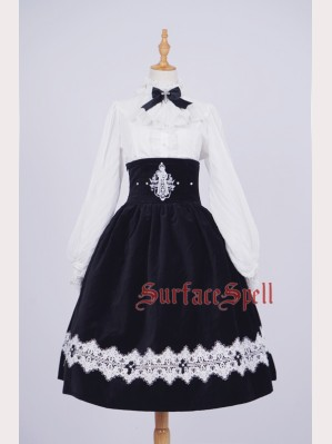 Surface Spell Gothic St. Therese Lolita Skirt SK