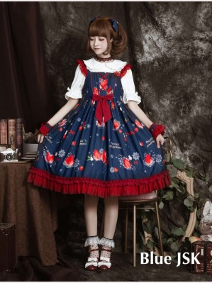 Strawberry Movement Sweet Lolita JSK (DJ01)