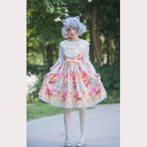 Sweet Desserts Lolita Dress JSK (BJ04)
