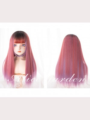 Strawberry Syrup Long Straight Wig (WIG39)