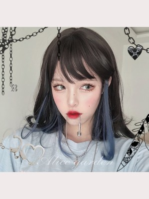 Blueberry Iced Coffee Lolita Wig (WIG50)