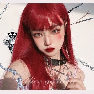 Redmoon Lolita Red Color Wig (WIG64)