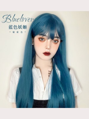 Bluelover Lolita Blue Long Style Wig (WIG72)