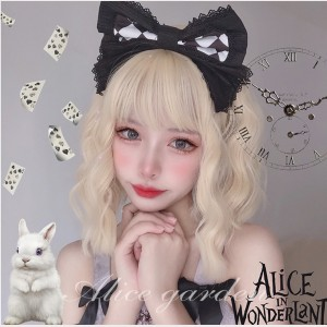Alfred Lolita Gold Color Wig (WIG74)