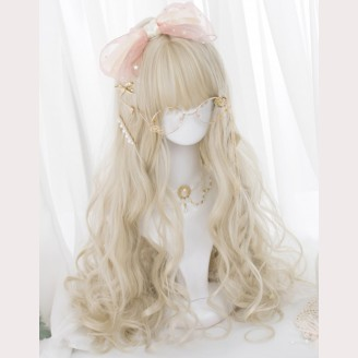 Dessert Chef Long Curly Lolita Wig (AG04)