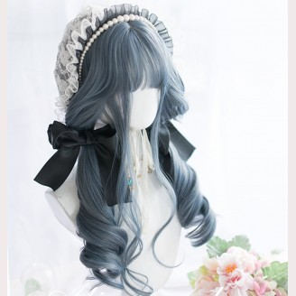 Puppeteer Gray Blue Lolita Wig (AG05)