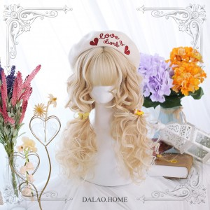 Caramel And Milk Tea Lolita Wig (DL46)