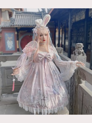 Diamond Honey Butterfly Dream Lolita Dress OP (DH195)