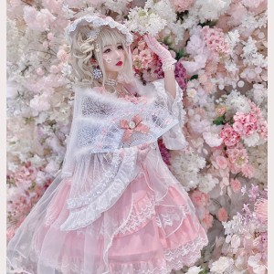 Diamond Honey Gorgeous angel praying for flowers to marry classic lolita full set (DH201)