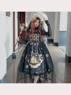 Diamond Honey Myth Of Star And Moon Lolita Dress JSK (DH196)