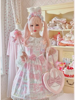 Diamond Honey Snow Ball Lolita Dress JSK (DH203)