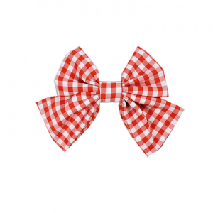 Diamond Honey Red Plaid Sweet Lolita Style Hair Clip (DH245)
