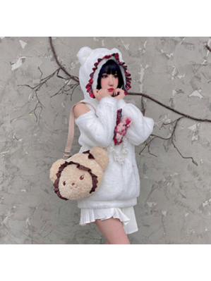 Christmas Bear Case Kawaii Goth Sweater by Diamond Honey (DH300)