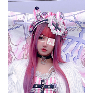 Strawberry Emergency Room Yandere Lolita Beret & Choker (DH296)