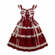 Diamond Honey Vintage Lolita Style Dress JSK (DH213)