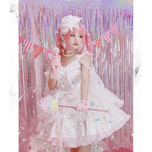 Diamond Honey Singing Costume Lolita Style Dress Package (DH214)
