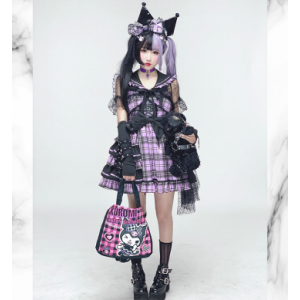Diamond Honey Girl Group idol Lolita Dress - short version (DH218)