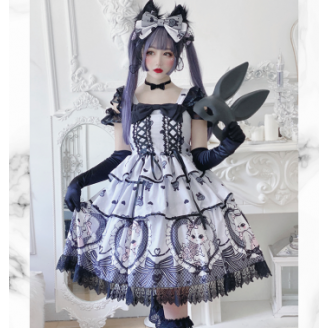 Diamond Honey Lady Kitten Sweet Lolita Dress JSK (DH220)