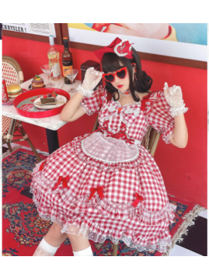 Diamond Honey Classic Plaid Lolita Dress 2020 (DH212)