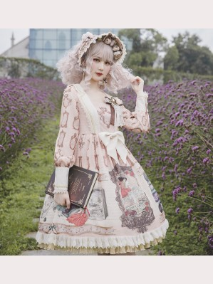 Infanta Mother Goose Nursery Rhymes Lolita Dress OP (IN865)