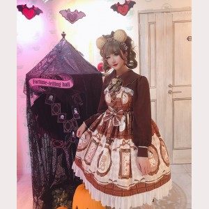 Diamond Honey Chocolate Bears Sweet Lolita Dress JSK (DH193)