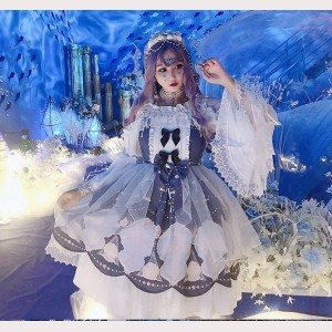 Diamond Honey Shell Cross Lolita Dress JSK (DH194)