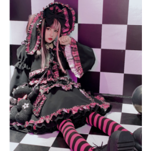 Diamond Honey Gothic Lolita Bunny Top & Skirt Set (DH272)