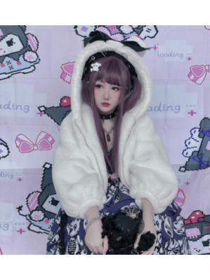 Diamond Honey Fluffy Bear Sweet Lolita Jacket (DH273)
