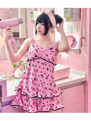 Diamond Honey Bear Cosmetic Sweet Lolita Pyjamas Homewear (DH263)