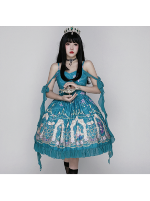 Diamond Honey Aladdin Princess Jasmine Lolita Dress JSK (DH267)