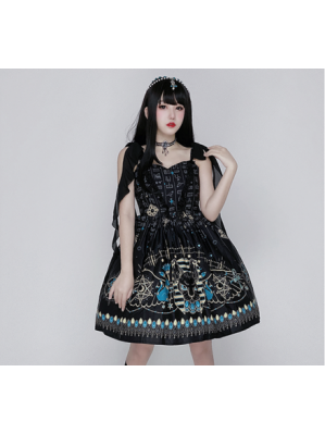 Diamond Honey Princess Of The Nile Egyptian Cat Lolita Dress JSK (DH268)