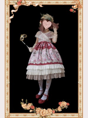 Infanta Dance Ball Party Lolita Dress JSK (IN915)