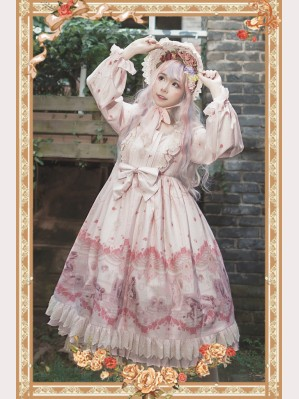 Infanta Doll Afterimage Classic Lolita Dress OP (IN918)