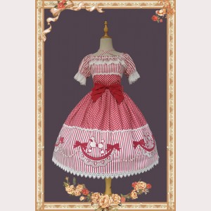 Infanta Poodle Lolita Dress OP (IN922)
