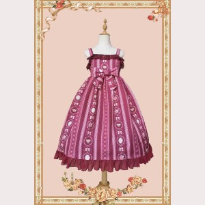 Infanta floral daily lolita dress JSK & KC Set (IN852)