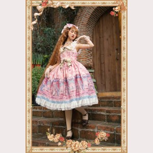 Infanta Secret Garden Classic Lolita Dress JSK (IN853)