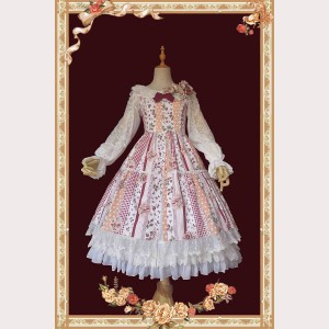 Infanta Strawberries Lolita Dress JSK (IN856)